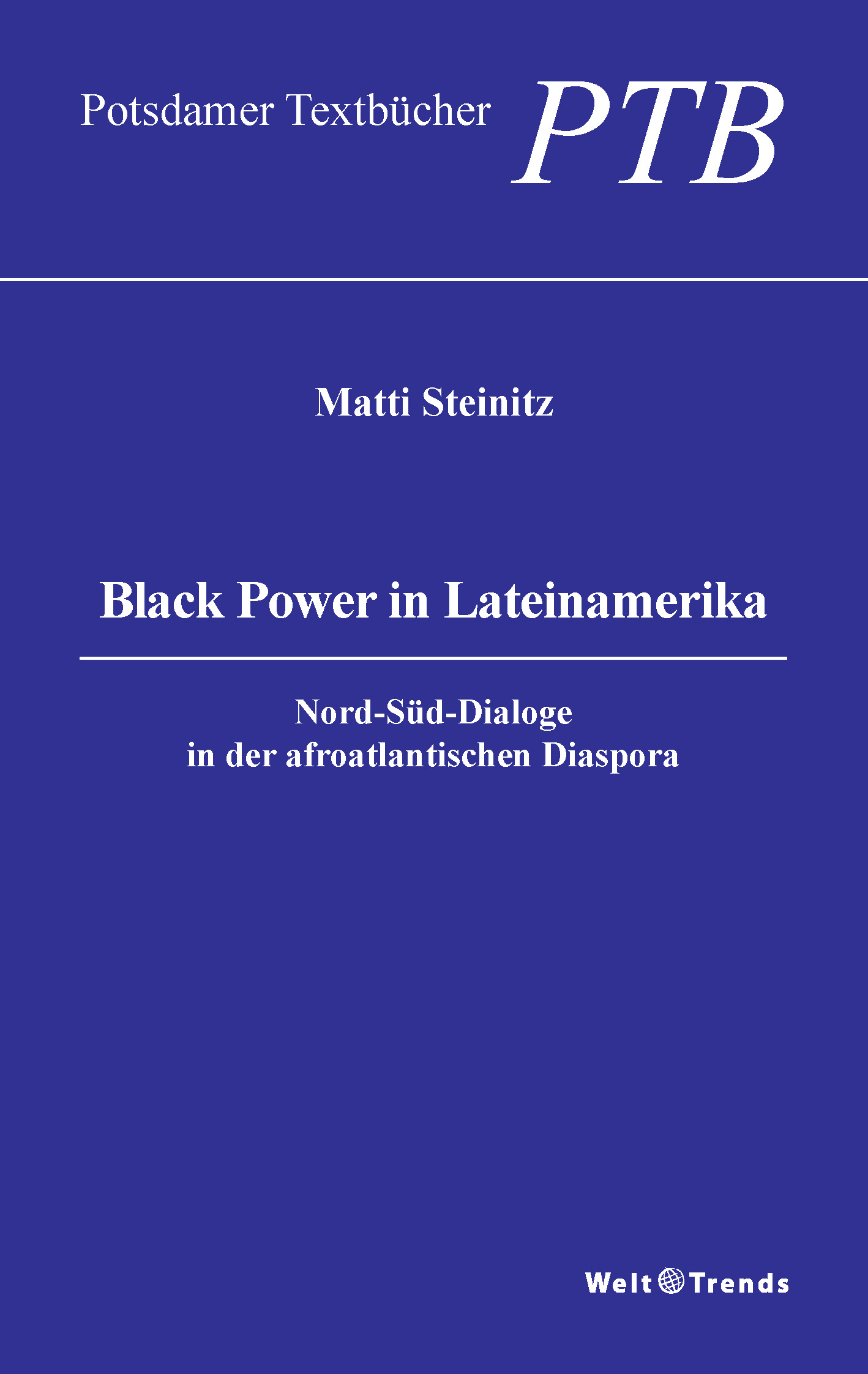 Black Power in Lateinamerika, Cover