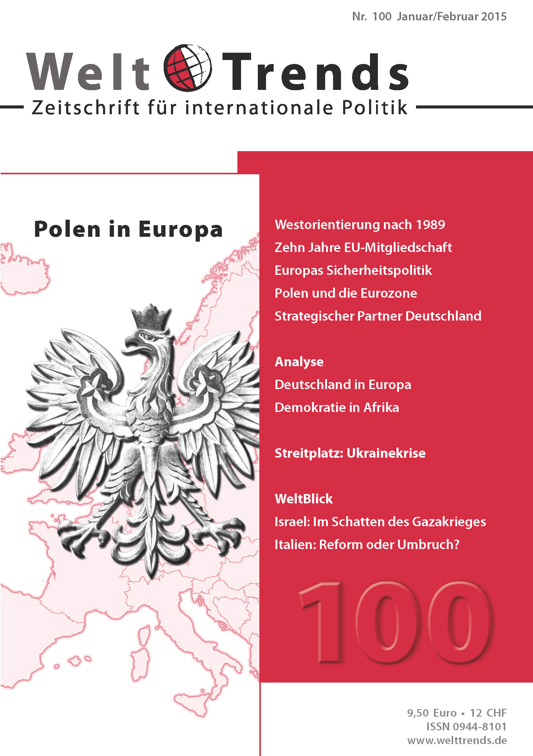 WeltTrends 100: Polen in Europa, Cover