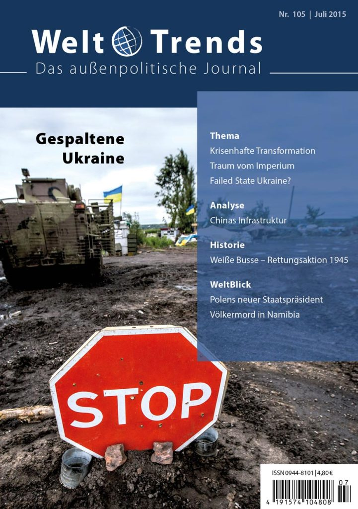 WeltTrends 105: Gespaltene Ukraine, Cover