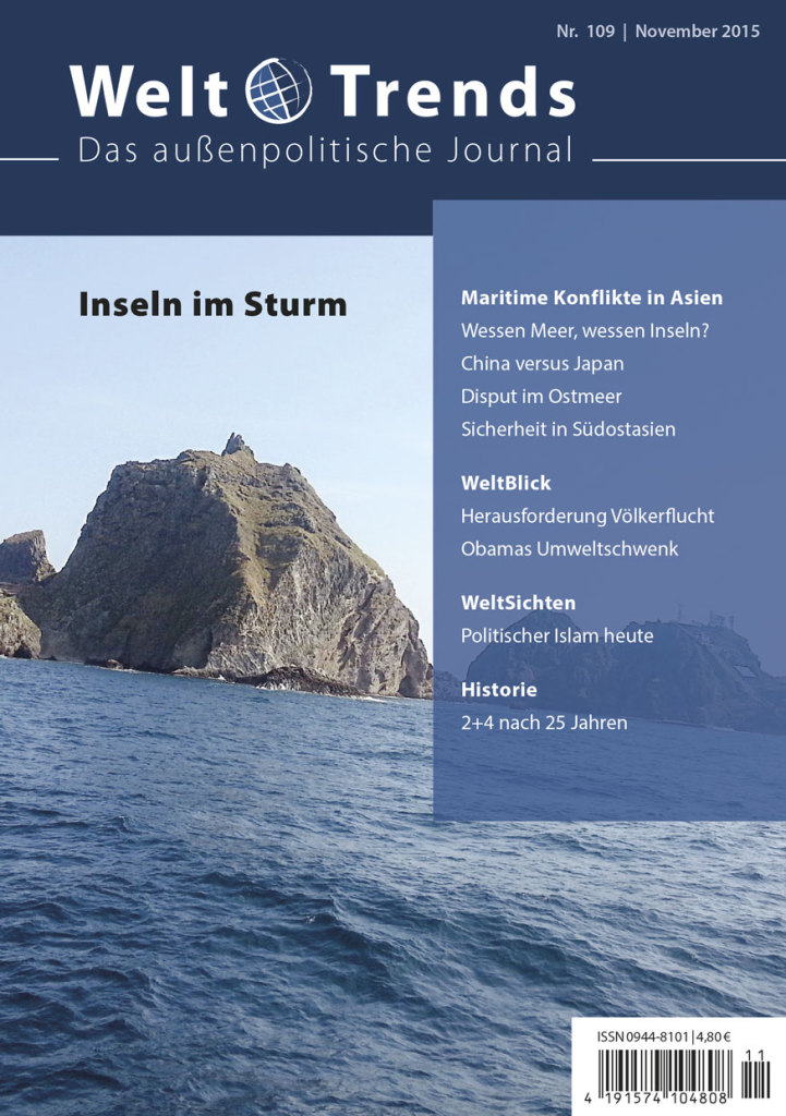 WeltTrends 109: Inseln im Sturm – Maritime Konflikte in Asien, Cover