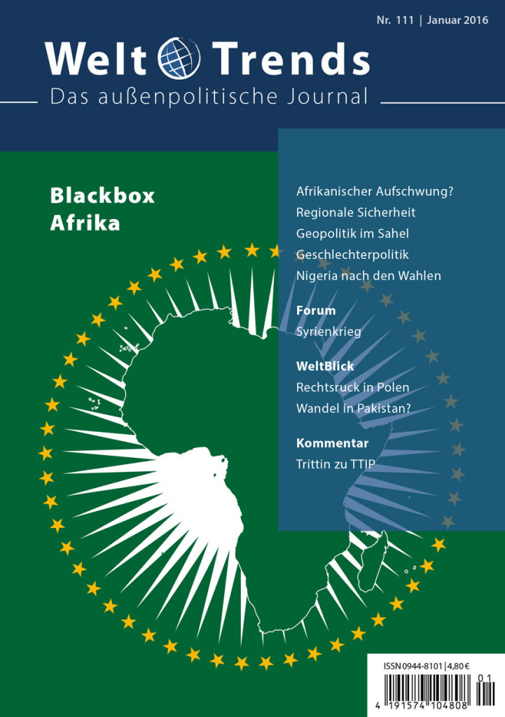 WeltTrends 111: Blackbox Afrika, Cover