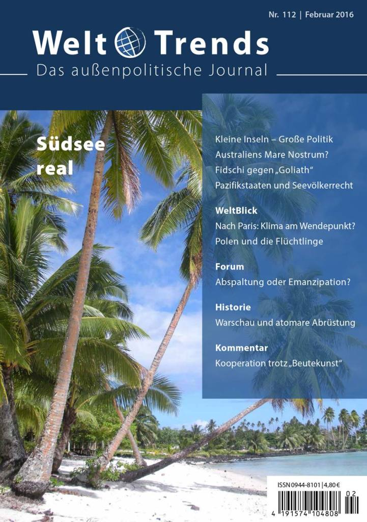WeltTrends 112: Südsee real, Cover