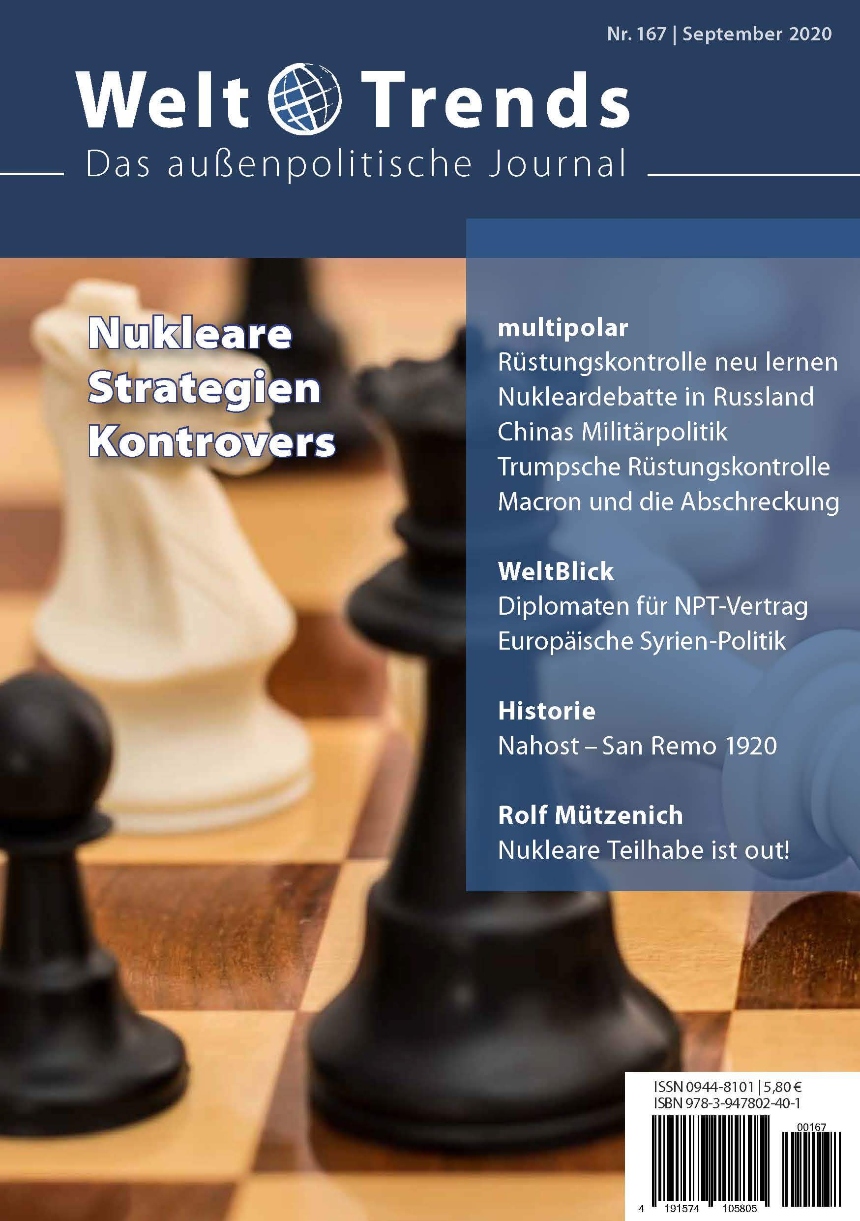 WeltTrends 167: Nukleare Strategien kontrovers